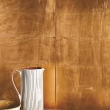 Original Style – Glassworks – Copper Leaf glass GW-CLF6030 close up