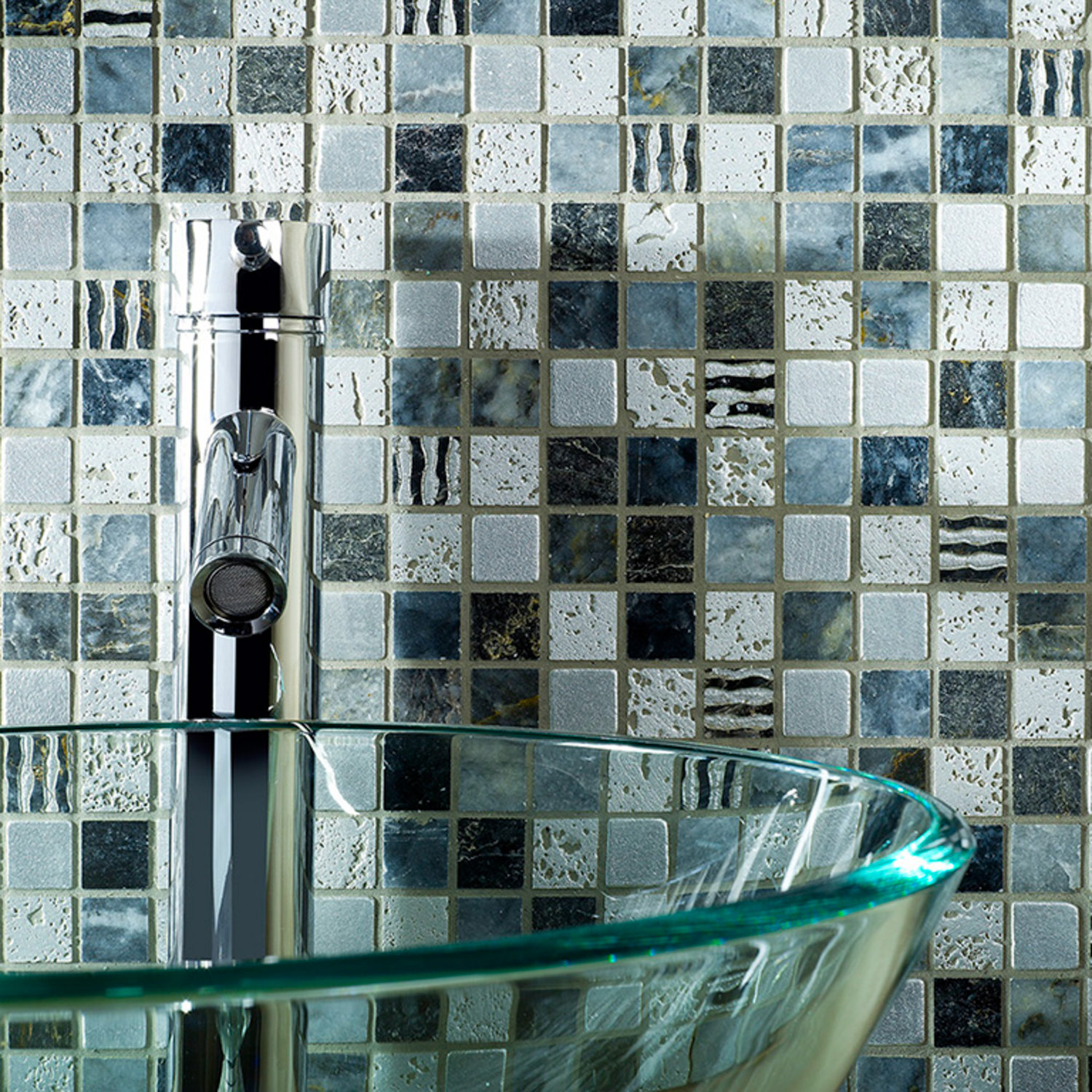 Mixed Mosaics - Wall | Tile & Stone Gallery - Ceramic & Porcelain ...